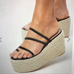 Simmi London exclusive Melanie espadrille flatform